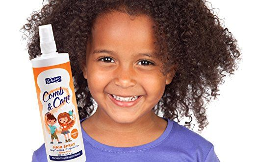 Amazon.com: Comb & Care Leave-in Hair Detangler Spray For Kids Dr. Fischer (Sarekal)-Easy to Apply-No need to rinse-Natural Alternative for Children's Hair-Lice Repellent –Daily Easy Hair Hygiene: Beauty