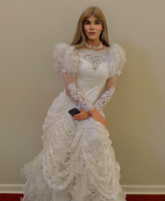 Transvestite bride transvestite pinterest talbots for Talbots dresses for weddings