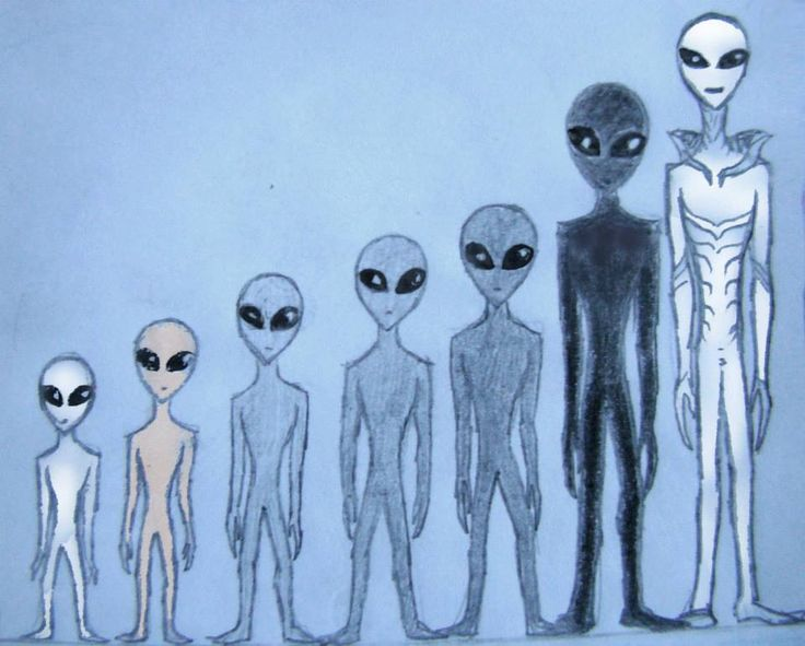 grey aliens type and rating sketch by Calivander on DeviantArt