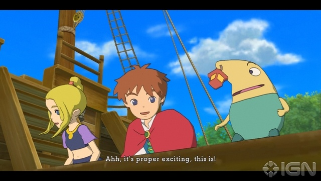 Ni No Kuni: Wrath of the White Witch Review   Pokemon Meets Tales with a Studio Ghibli twist.    → January 15, 2013 Ni No Kuni: Wrath of the White Witch looks familiar, archetypical and even safe, but underneath the hood, it's none of those things. - IGN