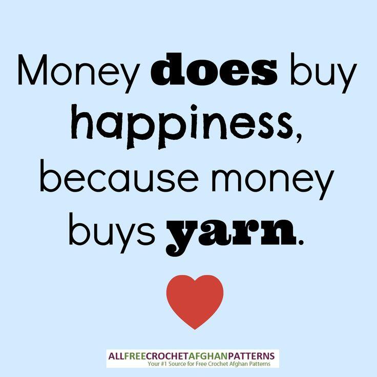 Yarn = Happiness