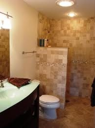 I want an open shower with no doors