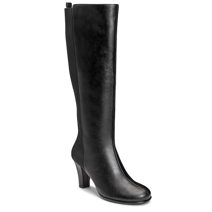 A2 by Aerosoles Quick Role Women's Knee High Boots, Size: medium (10.5), Black