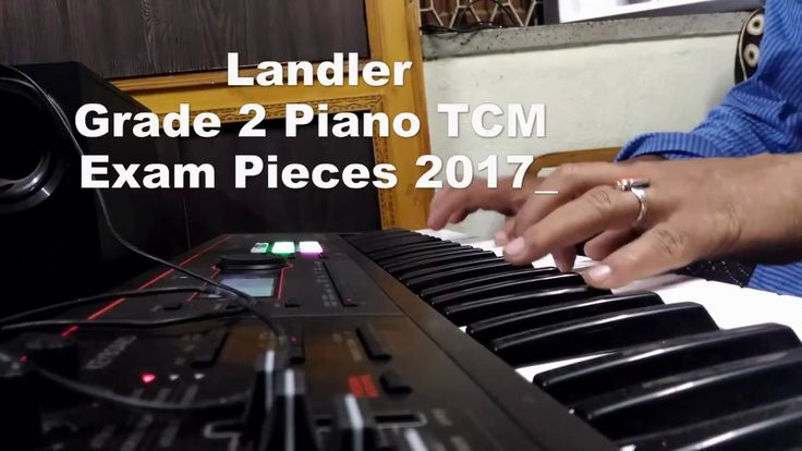 Grade 2 Piano Exam Pieces 2017 Landler