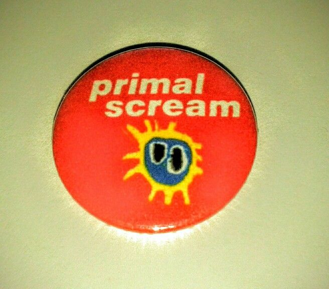 Primal scream button badge