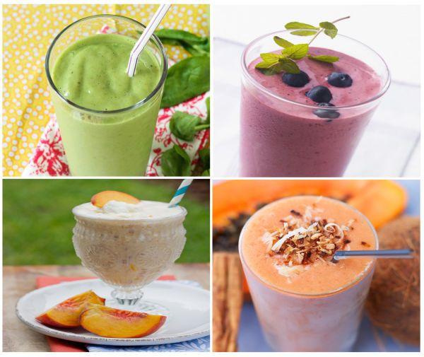 Te compartimos 10 recetas de smoothies (batidos), fáciles de preparar, para disfrutar de un desayuno natural, saludable y energético.