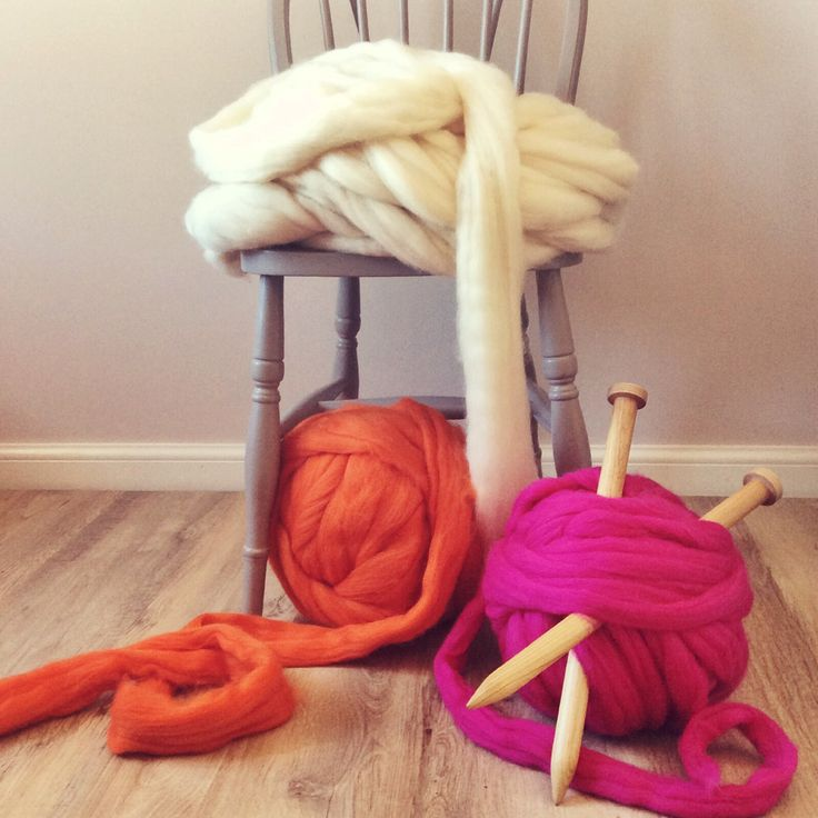 Lauren Aston Designs - I've been getting busy in the sunshine with these lovely colours. Chunky knitting to my hearts content