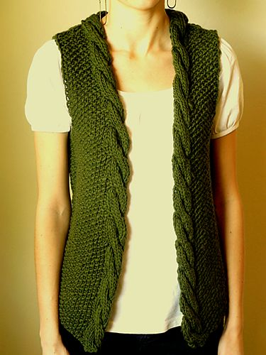 sweater vest knitting pattern