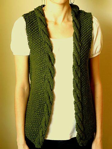 sweater vest knitting pattern