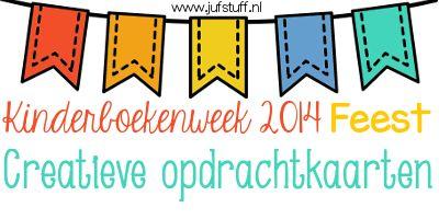 Juf-Stuff: KBW 2014: Even voorstellen en creatief met de Kinderboekenweek
