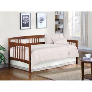 $179 Dorel Wooden Daybed, Walnut