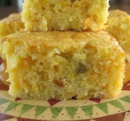 Mexican Cornbread. Photo by Calee