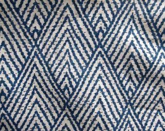 BALI NAVY designer drapery/bedding/upholstery by reneesfabrics