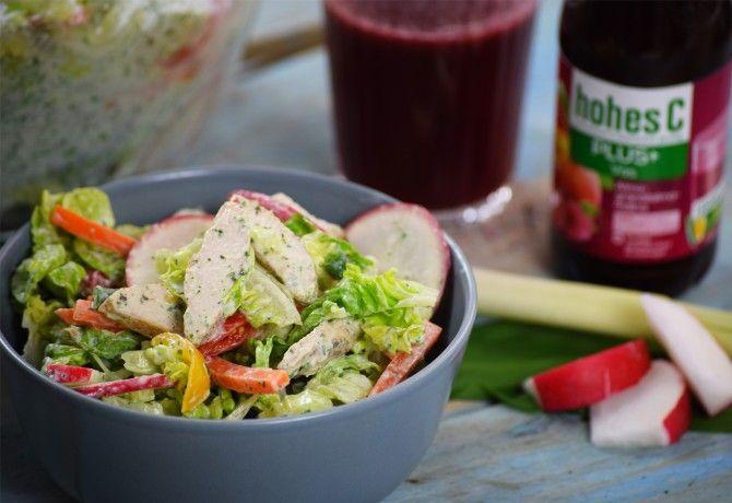 Görög-római joghurtos saláta