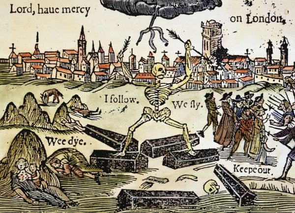 """Bring Out Your Dead!"" – A Brief History of The Bubonic Plague and London 
