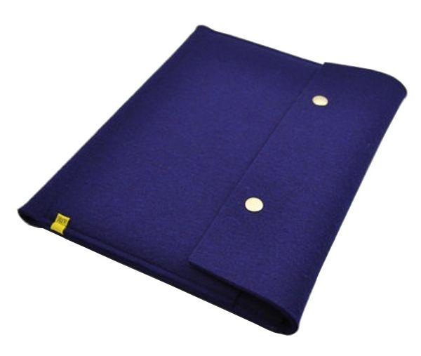 100% wool felt iPad SLEEVE - navy blue wool felt ipad air case Material:Wool Felt Size:ipad air,ipad 4,3,2 Waterproof, fireproof safe. Soft feel and very light weight. Environmentally friendly materials. Sustainable, renewable energy and biodegradable.  wool felt ipad sleeve manufacturer in china