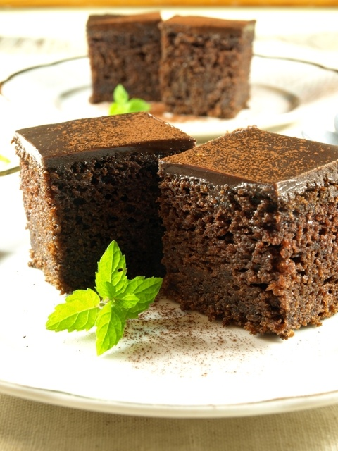 Chocolate cake without eggs