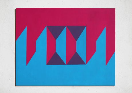 s+m by paola slongo acrylic on canvas 2008