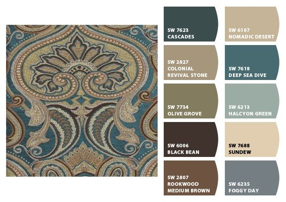 Color Palette Inspiration for Exterior Craftsman Home Chip It! by Sherwin-Williams – Home