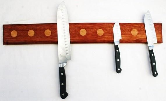 Beautiful 18 Inch Wall Mounted Knife Block W A N T