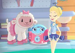 DoctoraJuguetesJuegos.com - Juego: Rompecabezas Lambie y Bella - Juegos de Puzzles de Doctora Juguetes Disney Jugar Gratis Online