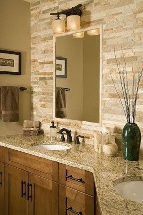 backsplash is from Statements Tile, it's a stacked quartzite, Golden