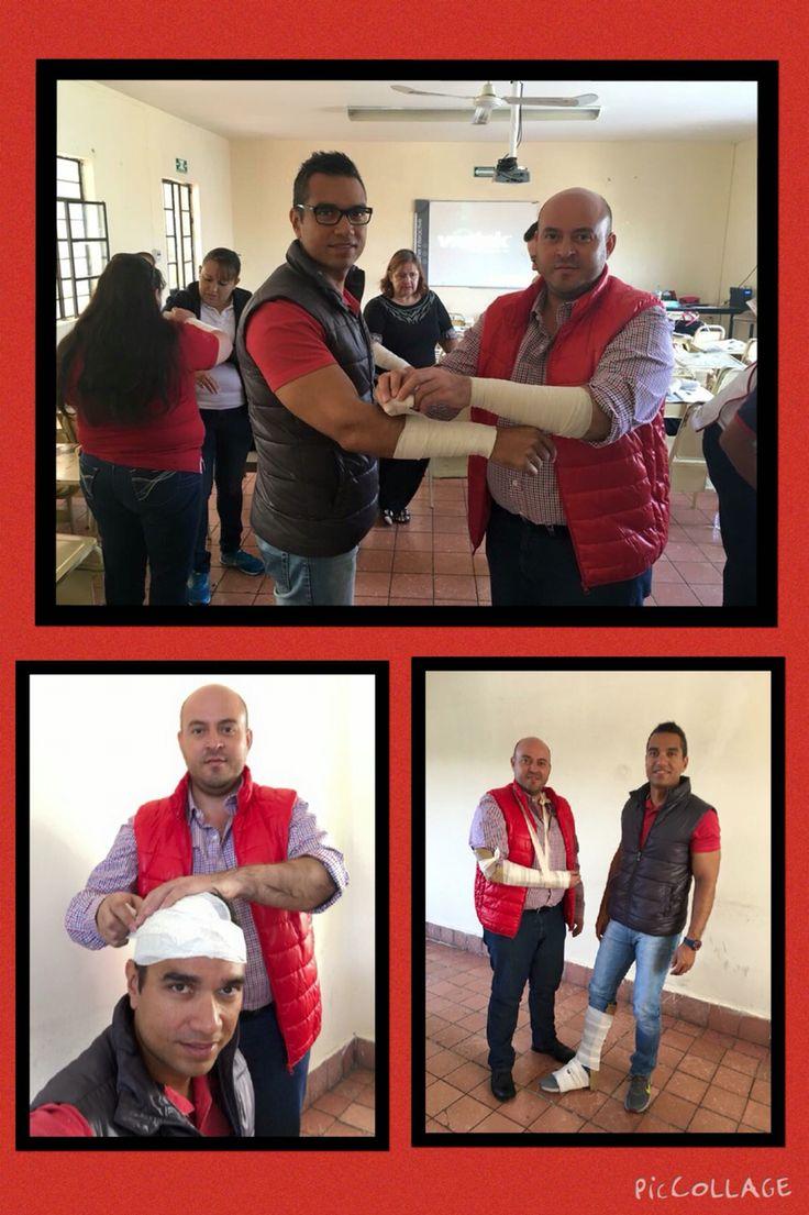 Día 2: Técnicas ante hemorragias, cortadas, fracturas y quemaduras. Escuela de Enfermería de la Cruz Roja. 24/11/15