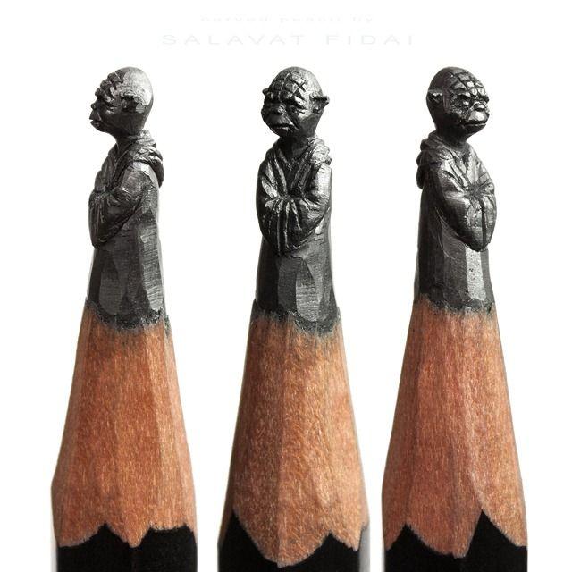 Best pencil tip sculptures images on pinterest