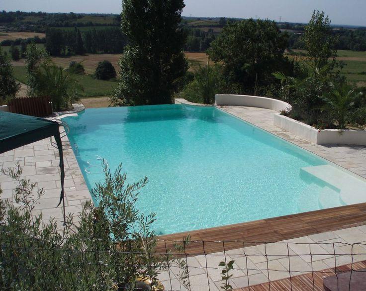 Exterior stylish inground pool fiberglass pool kits