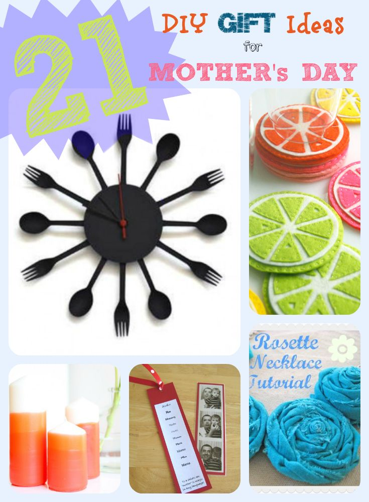 20  DIY Gift Ideas for Mother's Day
