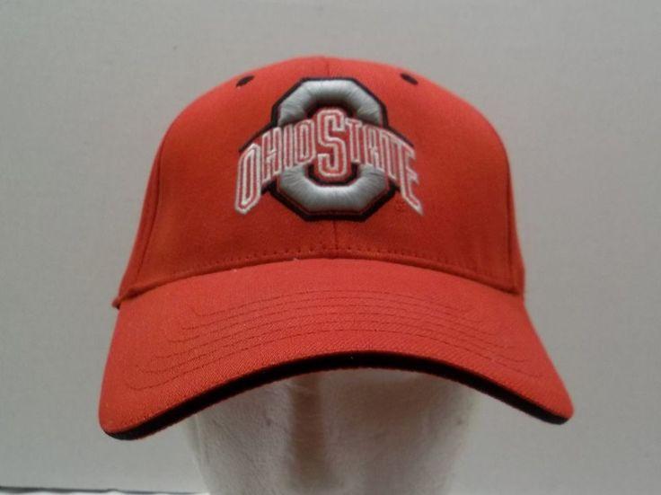 Ohio State Hat Elastic Band M/L Medium Large Cap Buckeyes NCAA #OhioStateBuckeyes