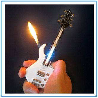 1x Mini White Guitar LED Light Refillable Cigar Cigarette Lighter 7inch UFindings http://www.amazon.com/dp/B005BX265S/ref=cm_sw_r_pi_dp_bwLKtb1XME746024