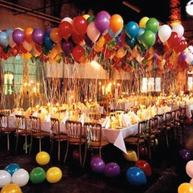 Cool Birthday Party Setup!