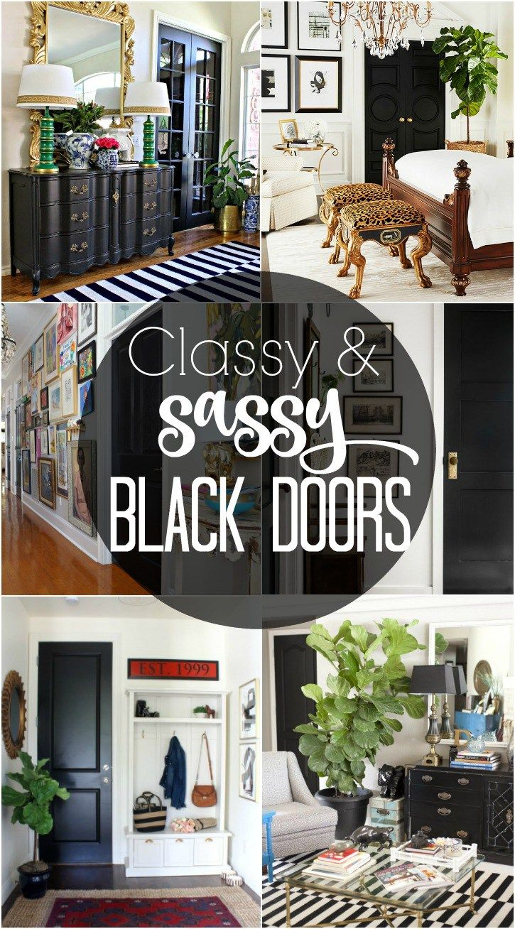classy and sassy black doors-how-to-add-instant-sophistication-to-your-home…
