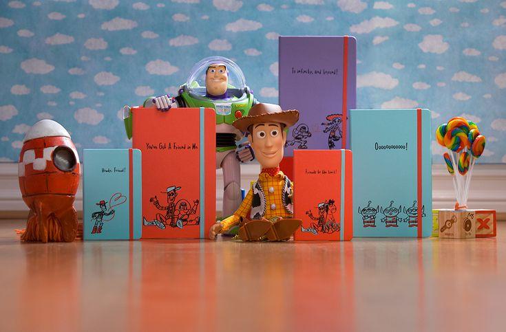 Moleskine e Toy Story - uma parceria muito fofa! http://bicho-das-letras.blogspot.pt/2017/02/moleskine-e-toy-story-uma-parceria.html #moleskine #toystory #animação #filmes #crianças
