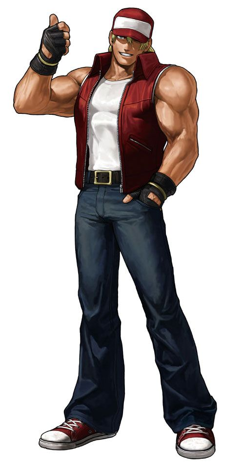 Terry Bogard - Pictures & Characters Art - King of Fighters XIII
