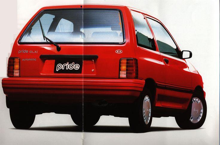 https://flic.kr/p/Fpixom | KIA Pride; 1995_3 | car brochure by worldtravellib World Travel library
