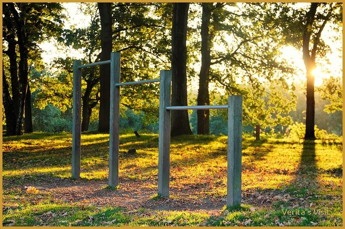 The playground catches sun. #autumn #theNetherlands #landscape #Holland #nature