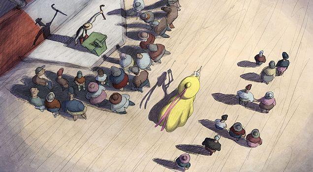 """Внимание-внимание! Выставка Билла Плимптона, единственного и неповторимого короля инди-анимации, ОТКРЫЛАСЬ!!! #Erarta представляет: """"Cheatin' storyboard"""". http://www.erarta.com/ru/calendar/exhibitions/detail/bb76bbbe-2ebb-11e4-9519-8920284aa333/ #display #plympton #contemporary_art #animation #exhibition"""