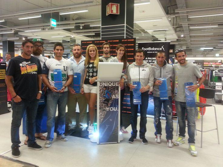 Foto oficial com alguns dos nossos melhores atletas de várias modalidades!
