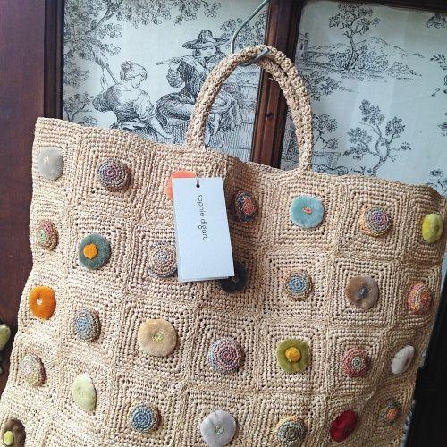 l'uccello: Sophie Digard crochet handbag
