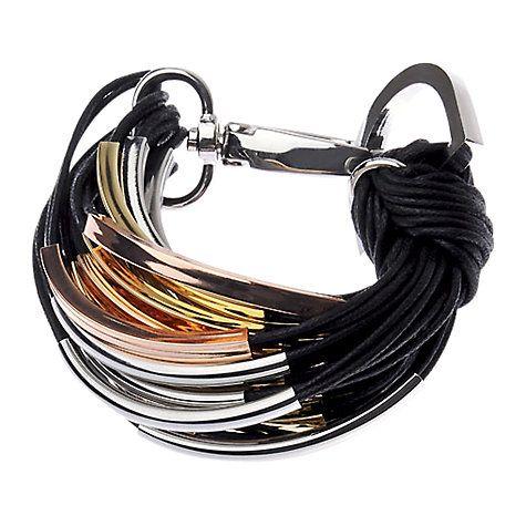 Buy Adele Marie Multi Row Cord and Tube Bracelet Online at johnlewis.com