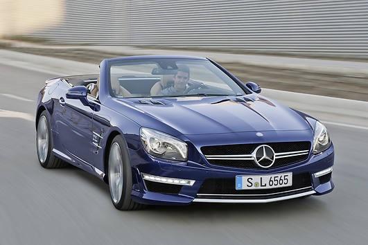 Stolzer Preis für einen SL 65 AMG mit 630 PS-V12: 236 334 Euro....