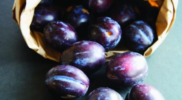 Extra plums? Make an Asian Style Plum Sauce from Mrs. Wheelbarrow's Practical Pantry.