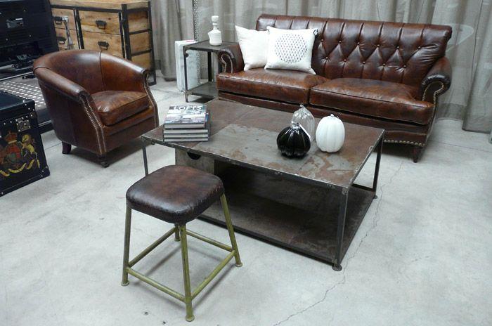 17 mejores im genes sobre decora tu hogar muebles for Muebles estilo industrial madrid
