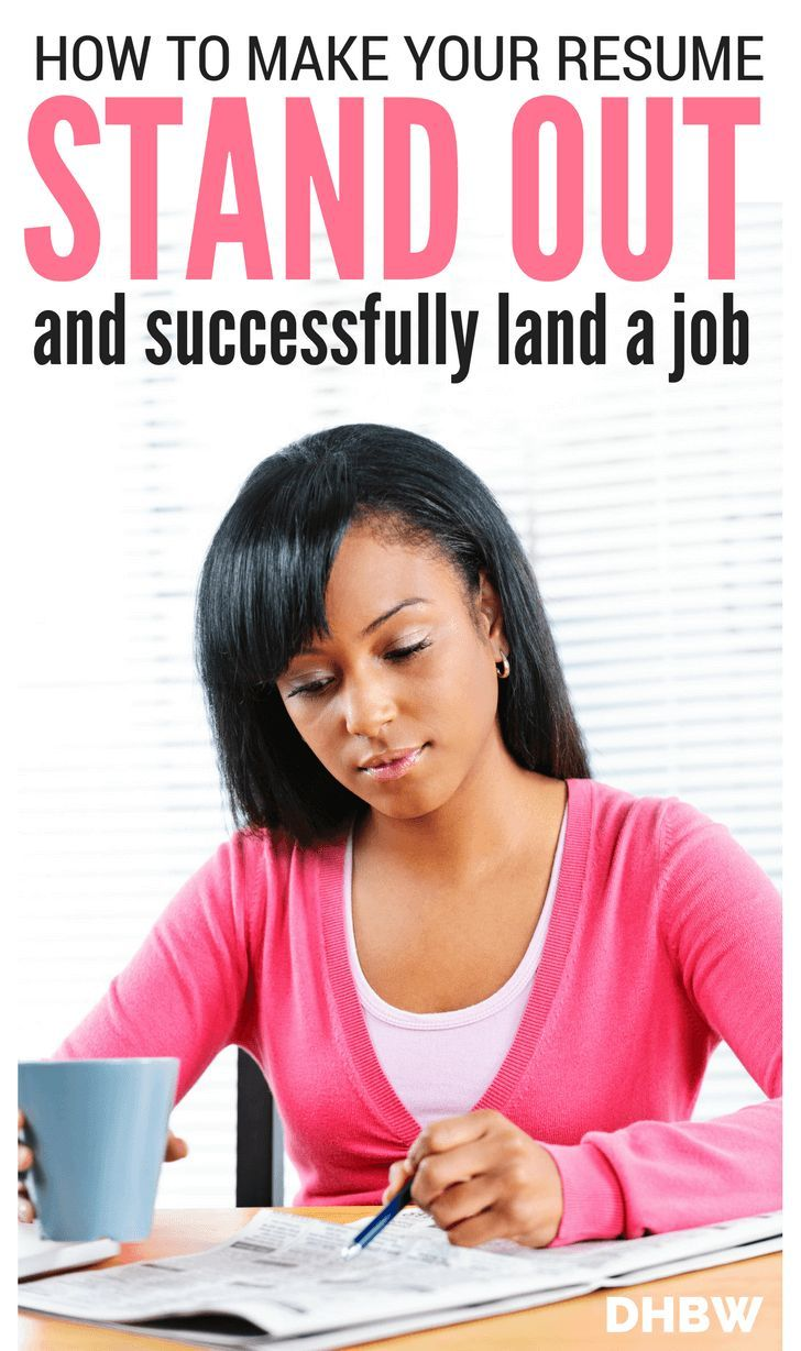 best home based jobs ideas part time jobs time  how to make your resume stand out and land the job dream home based work
