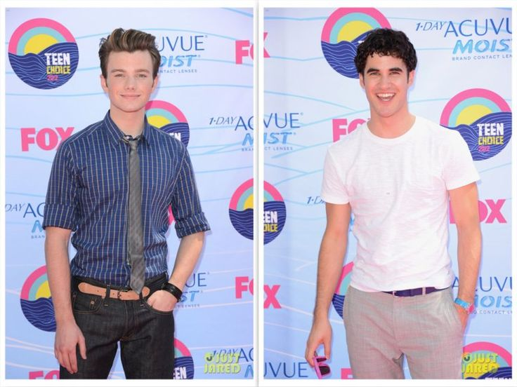 Chris and Darren at Teen Choice Awards 2012