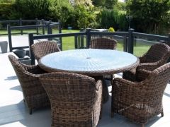A place in the sun to relax and enjoy the sun. Fensys decking offer low maintenance out spaces that compliment any home.