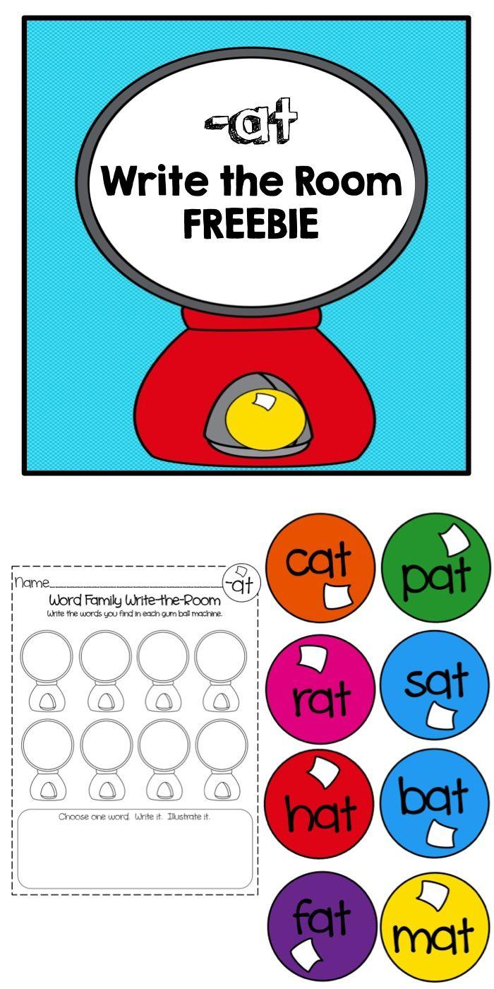 261 best Literacy-Word Family images on Pinterest | Cvc word ...