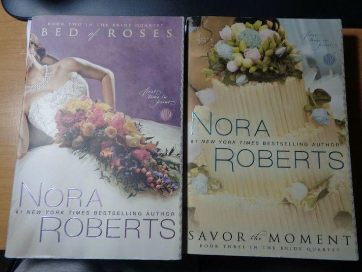 Details about the bride quartet books by nora roberts